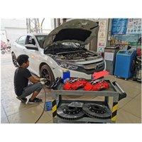 la modificación del coche universal del freno delantero del freno 18Z sistema de pinza 380 del rotor del freno * 32mm de 10 de la generación de Honda Civic