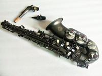 جديد المهنية الآلات الموسيقية سوزوكي ألتو ساكسفون e شقة ماتي الأسود النيكل مطلي سطح ساكس والقضية