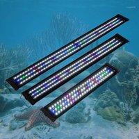 30cm 45cm 슈퍼 슬림 LED 방수 수족관 조명 민물 생선 탱크 식물 해양 램프 수생 장식을위한 전체 스펙트럼