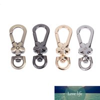 4pcs Swivel Trigger Clips Snap Hooks Handle Flower Lobster Metal Clasps Bag Key Rings Keychains Bag Accessories