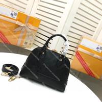 Высококачественные натуральные кожаные тиснение Neo Alma BB Tote женские сумки люкс дизайнеры сумки женская сумка на плечо с крестовым ремешком и замок