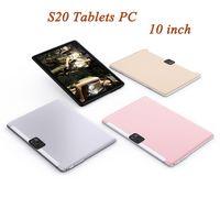 S20 Quad Kern 10 Zoll IPS Touchscreen Dual Sim 2g Tablet PC Qualität MTK6592 Android 1280 * 800 Auflösung 4500mAh 1 + 16 GB