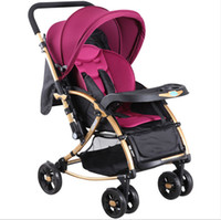 2020 Nuevo estilo Cochecitos de bebé 3 en 1 Carro Protable Traveling Baby Parms Hot Sales Ligera Poussettes plegables