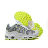 Плюс Размер TN 12 Бегущие Обувь Мужские Женские Всемирные TN Plus SE Triple Black Все Белые Тренеры Открытый Спортивные кроссовки EUR 36-46