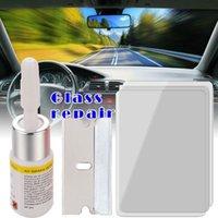 Araba Temizleme Araçları 1 Takım (5 adet) Araba Cam Windscreen Pencere Cam Tamir Reçine Kiti Otomatik Tutkal