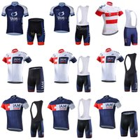 Nuovo! Iam ciclismo Jersey Ropa Ciclismo Hombre Pro Team Abbigliamento Bicicletta Quick Dry Manica corta MTB Bib Bib / Shorts Set 030612