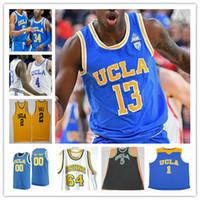 CUSTOM UNIVERSIÓN UCLA Baloncesto Jersey Jaime Jaquez Chris Smith Tyger Campbell Jules Bernard Westbrook Ball Lavine Abdul-Jabbar Miller 4XL