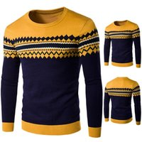 Men's Sweaters Casual Long Sleeve Fashion Sweater Warm Knitting Pullover Autumn Winter Tops Blouse