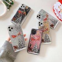 ل iphone12 حالة الهاتف عيد الميلاد بلينغ بريق يتوهم حالة الغطاء ل iPhone11 11PRO 11PRO MAX XR XS Max 7 8 Plus