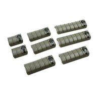 Support de poignet KAC KNIGHTS Panneau de cuisson à main 8pcs / Set 20mm Picatinny / Weaver Couvercle de rail BK / DE / FG Polymère
