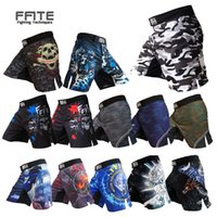 MMA Shorts Kick Boxen Muay Thai Shorts Trunks MMA Günstige Männer Fitness Shorts Sanda Boxe Fight Wear Grappling MMA Pants Sport Y201015