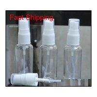 50 ml Temizleyici Sprey Şişe Boş El Yıkama Şişeleri Emülsiyon Pet Plastik Mist Sprey Pompa Şişesi için Alkol El San Qylzdf Nana_Shop