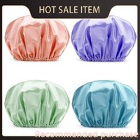 New Cover Kitchen Hats Satin Bath Double Shower Caps Hair Sh...