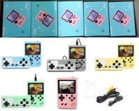 Mini Handheld Macaron Jogo Console 500 em 1 Retro Video Game Console 8 bit de 3,0 polegadas Colorful LCD Support dois jogadores