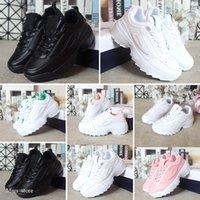 2021 mais novo RAF Ozweego 2 II Sawtooth Kids Shoes Mens Plataforma das Mulheres FW0165-015 Preto Crianças Sneakers