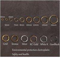 200 teile / sack 4 5 6 mm Link Schleife Großhandel Vintage Bronze Jump Ringe Split Ring Anschlüsse Für DIY Schmuck Finden Erstellen von C Jllxxk
