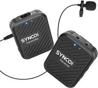 Synco G1 G1A1 G1A2 نظام ميكروفون لاسلكي Lavalier لاسلكي للهواتف الذكية Laptop DSLR اللوحي كاميرا مسجل PK Comica