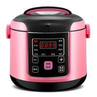 2L Cuisinière à riz électrique intelligent intelligent autocuiseur automatique cuisinière de cuisine portable préservation de riz cuisson machin multicoke