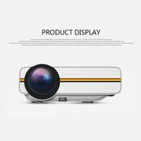 Projecteur LED portable YG400 MINI 1000Lumens 800 * 480DPI LCD Hometheater Projecteur Support 1080P Proyector HDM VGA Projecteur USB HDM