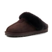 Klasik wgg sıcak pamuk terlik erkekler ve bayan terlik kısa çizmeler kadın çizmeler kar botları pamuk terlik