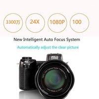 Dijital Kameralar 2021 HD Protax D7100 Kamera 33 Million Piksel Otomatik Odak Profesyonel SLR Video 24x Optik Yakınlaştırma Üç Lens1