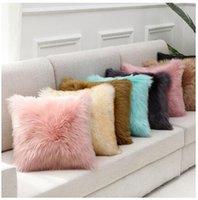 Federa peluche Furry imitazione cashmere morbido casa comodo cuscino copertura soggiorno soggiorno divano famiglia cuscino copertura ffd3447