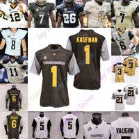 2020 Vanderbilt Commodores Jersey Jersey NCAA College Jay Cutler Riley Neal Ke'shawn Vaughn Kalija Lipscomb Cam Johnson Andre Mintze