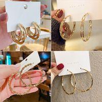 Donne gioielli moda diamante orecchino orecchino nuziale / fidanzamento rotondo goccia appeso 925 orecchini in argento sterling 925