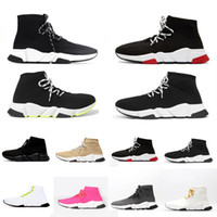 2020 designer sports speed 2.0 lace-up  trainers trainer luxury women runners shoes trainer sneakers hommes femme  femmes baskets  chaussures balenciaga balenciaca balanciaga