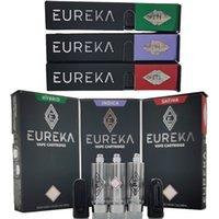 Pas cher eureka boîte d'emballage en plastique vape cartouches childproof cas 0.8ml 1ml vaporisateur eureka huile premium ecig vaping atomiseur expédition rapide
