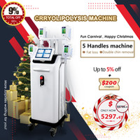 2021 Cryolipolysis Fig Feat Desging Slimming Machine Pérdida de grasa Crioterapia con 4 manijas Freeze Freeze Máquina Cryolipolysis