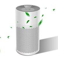 공기 청정기 활성탄 HEPA 필터 미니 USB 클리너가있는 홈 오피스 데스크탑 자동차 용 휴대용 개인 청정기