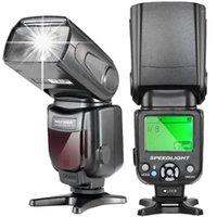 Flashes Newer NW-561 LCD Display Speedlite Flash para D7200 D7100 D7000 e todas as outras câmeras DSLR com Sapato padrão1