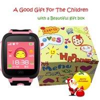 2020 Hot Kids Smartwatch GPS Uhren Blutdrucküberwachung SIM Karten Anruf Tracker Kinderkamera SOS Anti-Lost Smart Uhren für Kinder