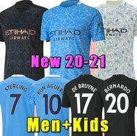 2020 2021 maglia da calcio Manchester City 20 21 top thailand quality manchester city soccer jersey KUN AGÜERO STERLING DE BRUYNE MAHREZ JESUS SILVA