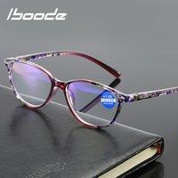 Iboode Lectura Gafas Hombres Mujeres Anti-Blue Light Light Definición Llavientes presbelligas +1.0 +1.5 +2.0 a +3.5 +4.0