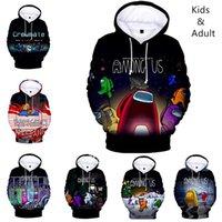 남성용 미국의 Hoodie Hoodies Sweatshirt 중대한 느슨한 캐주얼 힙합 Harajuku Boys Girls Kids 후드 풀오버 스웨터