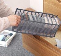 Подрушение нижнего белья Носки для хранения Ящик Черный Серый Женщины Ящик Тип Great Bras Упаковочные коробки Новый 6 5ly3 J2