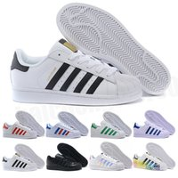 adidas superstar smith allstarNouveau Superstar Original Blanc Hologramme Iridescent Junior Or Superstars Baskets Originals Super Star Femmes Hommes Sport Casual chaussures 36-45