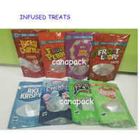 Deleites infundidos 500mg sacos de embalagem caramelo trata frutado pebblez medicatd doces Gummies Lucky Charmz trata Doces Edibles