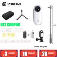 Insta360 Go 1080p Video Acción Cámara AI Auto Edición de la cámara Estabilizada SplashProoof FlowState Vlog PK Hero DJI Osmo SJCAM1