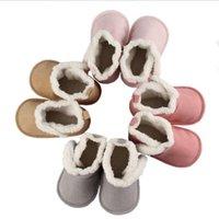 Zapatos para niñas Bebé Caliente Invierno Niños Boys Shoes Boot Winter Woming Infantil Niños Recién Nacido Bebé Soft Sole Botas de nieve