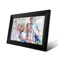 P100 واي فاي 10.1inch إطار الصورة الرقمية 1280x800 ips شاشة تعمل باللمس 16 جيجابايت الذكية إطار الصورة إطار التحكم W / حامل قابل للفصل 1
