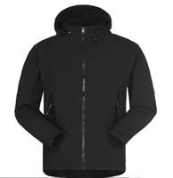 Mode- 2021 Mens Designer Wintermantel Lässige Massivfarbe Athletische Jacke Mit Kapuze Windjacke Warm Mantel Asiatische Größe Freies Verschiffen