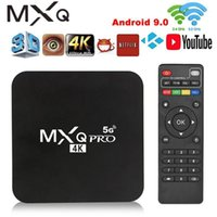 MXQPro Media-Player TV-Box Wifi Smart-TV Android 9 S905W Quad-Core 4k HD 2GB 16GB 3D 5 GHz1