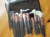 Maquillage 브랜드 화장 설정 15pcs / 세트 메이크업 도구 메이크업 브러쉬 화이트 목재 눈 그림자 브러쉬