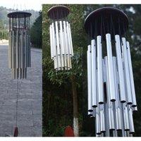 Chimes de vento antigo 27 tubos 5 sinos Jardim de vida ao ar livre Windchimes Tubos de jardim Bells Chaves de vento Jllsnp Lucky2005
