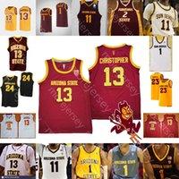 2020 Yeni Arizona Devlet Sun Şeytanlar Asu Basketbol Jersey NCAA College Alonzo Verge Jr. Rob Edwards Romello Beyaz Dziuba House Jalen Graham
