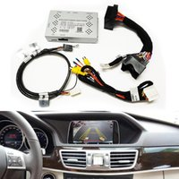 Интерфейс камеры заднего вида автомобиля на 2009-2011 гг. Mercedes S / E / GLK / C Класс с правилами парковки Plug и играйте