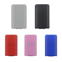 5 لون بطارية حزمة شل درع حالة كيت ل xbox360 xbox 360 ضئيلة لاسلكية تحكم الغلاف الخلفي استبدال أجزاء